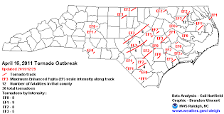Tornado Levels Chart April 16 2011 North Carolina Tornado Outbreak
