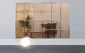 glass mirror tiles wall designs