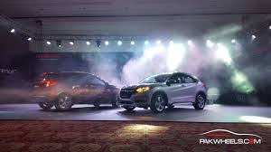 new car launches eventsHonda Atlas Launches 2016 Honda HRV At An Exclusive Event In