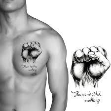 Italian tattoos of fist