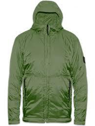 green micro rip stop primaloft packable bubble jacket