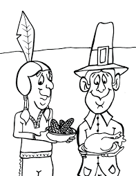 Mayflower Coloring Page Pages Pilgrims Color Of Pilgrim Girl