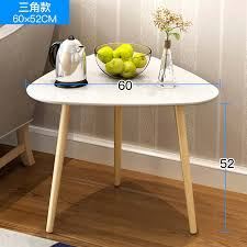 ha luodun small round coffee table bedside table sofa side table solid wood legs small round