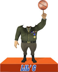 the general hits the court with