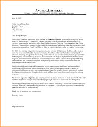 9 Cover Letter For Marketing Memo Heading