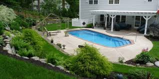 Backyard Pool Designs Landscaping Pools Extraordinary Pool Installation Considerations Things To Consider Before You Invest