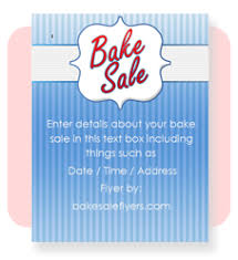 Word Flyer Template Bake Sale Flyers In Microsoft Word Format Bake Sale Flyers Free