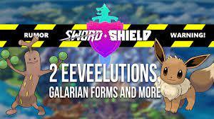 RUMOR: 2 New Eevee Evolutions and more in Sword & Shield