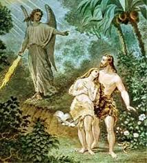 Image result for adam and eve expelled from eden