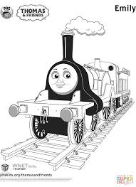 Thomas The Train Coloring Pages Free Printables