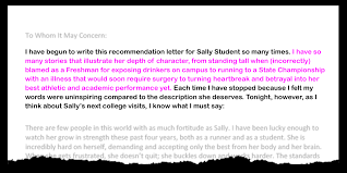 Letter Of Recommendation Student Tips For Writing A College Recommendation Letter Weareteachers