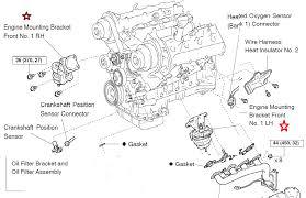 motor mount transmission mount location diagram engine mounts png