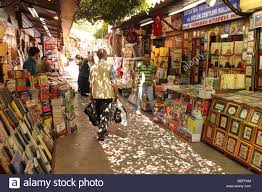 istanbul turkey the book bazaar at sahaflar carsisi sells both new and old books