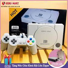 Máy Trò Chơi Cổ Điển OINY ONE, Máy chơi game điện tử 4 nút 600 trò chơi IB  Gamestation 600 Games Bảo hành 2 năm lỗi 1 đổi 1 trong 7 ngày