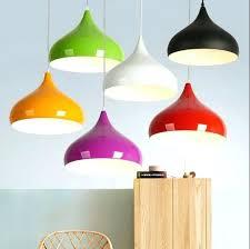 colorful pendant lights novelty colorful aluminum pendant lights bar restaurant bedrooms large ping mall art pendant