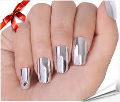 2014 New Fashion 16pcs Beauty Nail Art Polish 2 Colors Silver+ ...