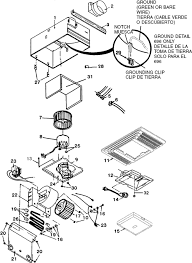 broan exhaust fan parts broan 696 bathroom exhaust fan light parts breakout large broan 696 bathroom exhaust fan light