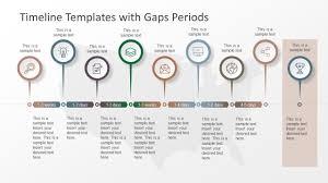 Timeline Templates Timeline Templates With Gaps Periods Slidemodel
