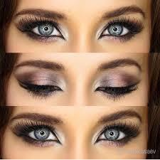 beautiful makeup for blue eyes pink metallic 3 palette ideas