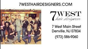 7 West Hair Designers Denville Hair Salon Denville Nj Youtube