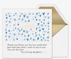 Thank You Cards Design Your Own Premium Online Thank Cards Thank You Notes Evite