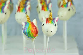Rainbow Unicorn Cookies And Cake Pops Popolate
