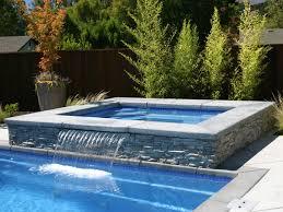 Royal Spillover Spa Hot Tub Viking Fiberglass Pools