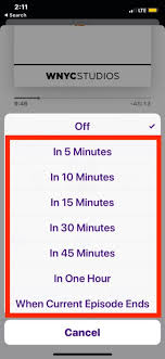 Set A Timer For 10 Minutes How To Set Sleep Timer In Podcasts On Iphone To