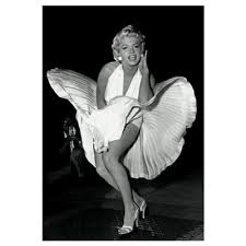 marilyn monroe white dress seven year itch 3 d poster lenticular