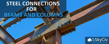 Steel Connections For Beams And Columns Skyciv Cloud