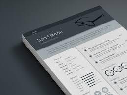 Adobe Indesign Resume Template Elegant Free Material Design Resume