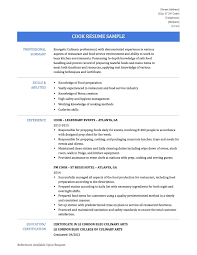 Resume Examples For Cooks Line Cook Resume Objective Sugarflesh 22