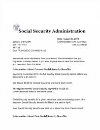 Social Security Administration Award Letter Copy | Textpoems.org