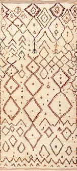 vintage beni ourain moroccan berber rug 48954 by nazmiyal