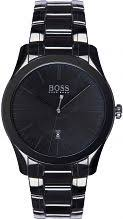 "hugo boss watches men s boss watches watch shop comâ""¢ mens hugo boss ambassador special edition ceramic watch 1513223"
