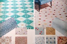 Linoleum Kitchen Flooring Options Retro Linoleum Flooring All About Flooring Designs