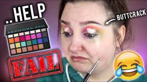 using every eyeshadow in the palette challenge sephora pro editorial