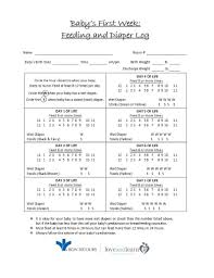Baby Eating Chart 50 Printable Baby Feeding Charts Newborn Feeding Schedule