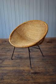 vintage satellite round circle bamboo