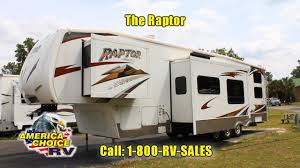 2008 keystone raptor 3612 fifth 5th wheel toy hauler rv at america choice rv you