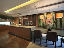 Contemporary Asian Kitchen With Lava Stone Countertops (Image 14 of 32)