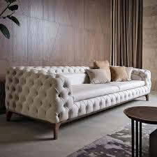 Button Sofa Design Luxury Italian Designer Button Upholstered Sofa
