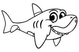 Toddler printable coloring pages are a fun way for kids of all ages to develop creativity, focus, motor skills and color recognition. Sharks Free Printable Coloring Pages For Kids