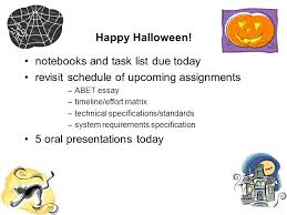 happy halloween notebooks and task list due today re  1 happy
