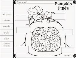 Parts Of A Pumpkin Clipart - ClipartXtras