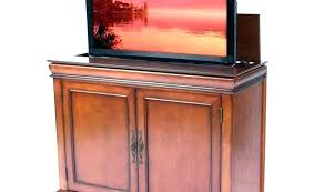 lift cabinet cabinets pleasant for living room alarming outdoor diy tv