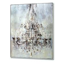 wall arts monsoon fl metallic wall art canvas metallic intended for 2017 chandelier canvas wall