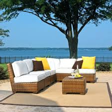 7 piece wicker patio set panama jack st 7 piece wicker sectional set halsted 7 piece 7 piece wicker patio