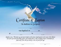 Fillable Certificates Printable Fillable Certificate Of Baptism Printable Baptism