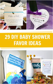 diy baby shower party favor ideas